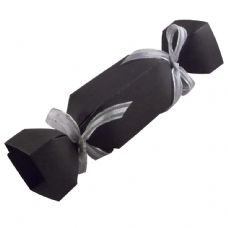 Black Cracker Designer Favour Boxes
